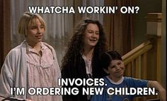 When she knew just what to say when her kids were all up in her business: | 19 Times Roseanne Was The Parent We All Aspire To Be
