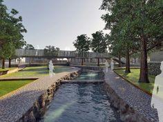 Πλατεία ΠηγώνΣκάλα, Λακωνία2009 - 2015ΔημόσιοΟλοκληρώθηκε5600 τ.μ.Η Utopia landscapes σχεδίασε το σύνολο των χώρων της Πλατείας Πηγών, της κεντρικής πλατείας της πόλης της Σκάλας στη Λακωνία. Στο σημείο αναβλύζουν πηγές, όπως υποδηλώνει και το τοπωνύμιο. Η περιοχή λοιπόν, παρ' ότι αστική, αποτελεί ένα πολύ ευαίσθητο φυσικό υδάτινο οικοσύστημα.Η βασική ιδέα σχεδιασμού επικεντρώθηκε στην προστασία και στην ανάδειξη του φυσικού οικοσυστήματος, μετατρέποντας το ταυτόχρονα σε χώρο συνάθροισης Landscape Architecture, Landscape Design, Anastasia, Sequence Of Events, Central Square, Parking Design, Pulsar, Water Systems, Urban Design