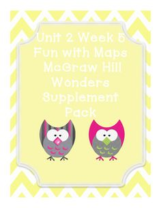This includes supplementary materials for Reading WondersUnit 2 Week 5 story Fun with MapsFun with Maps:*Weekly Newsletter*Spelling Scramble*Spelling Word Search*2 Phonics Worksheets*Color by High Frequency Word Ditto*High Frequency Word Search*Selection Test
