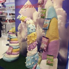 Wie cool ist das? How cool is that? Marshmallow Castle at the ISM Messe in Köln/Cologne