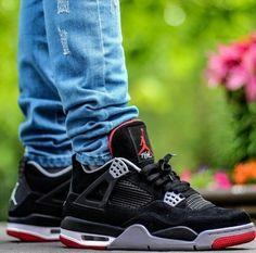 """Air Jordan 4 """"Black Cement"""""""