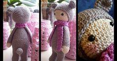 Patroon van Emmie de regenboog beer…       Emmie is een patroon dat door mij is bedacht, met als inspiratie Bina de beer (een lalylapatroon)...