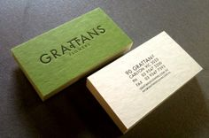 Grattans Flowers  Posted: 2:33 am Sunday, May 29, 2011 in: Business Card, Letterpress        Grattans Flowers Business cards Offset printed 2 sides and Black Letterpressed front onto Drink Coaster 390gsm. Designed by The Design Baker.