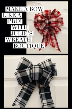 Learn how to make a bow like a pro DIY Bow Easy Bow Bow Diy Wreath Bows Christmas Bows Gift Wrapping Bows Pro Bow The Hand Bow Makers Handmade Bows Christmas Decorating Gift Wrapping Bows, Gift Bows, Wrapping Ideas, Bows For Gifts, Wrapping Presents, Tips And Tricks, Wedding Headband, Burlap Bow Tutorial, Wreath Tutorial