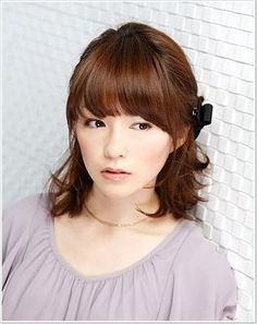 Pretty Asian Hair Styling For Females