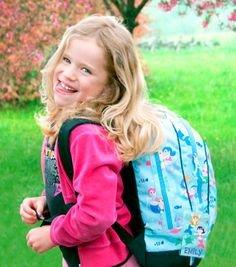 Mom's are going crazy for these personalized kids backpacks- great time to think about the upcoming camp-season!