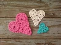 Little Hearts - Free Original Patterns - Crochetville