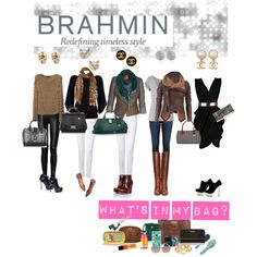 """How do you wear your Brahmin?"" by kmcmillion on Polyvore"