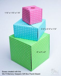 In Detail: Product Reviews & News – Gift Box Punch Board by Jean Manis. Plus envelope punch box tricks.