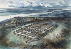 Segontium Roman Fort Ancient Rome, Ancient History, Roman Technology, Medieval, Snowdonia, Roman Empire, City Photo, Waves, Cymru