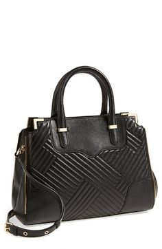 Rebecca Minkoff 'Amorous' Quilted Satchel available at #Nordstrom