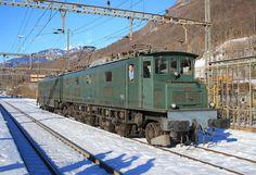 Swiss Railways, Electric Locomotive, Trains, Snow, Train, Iron, Locomotive, Eyes