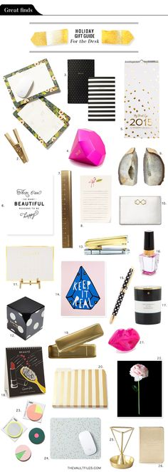 The Vault Files: Holiday Gift Guide - For the Desk/Office