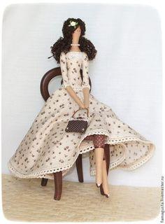 Куклы Тильды ручной работы. Ярмарка Мастеров - ручная работа Тильда Крем-брюле. Handmade.