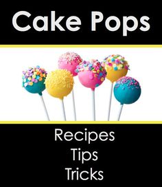 Book Review: Cake Pops: Recipes