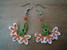 oya crochet earrings by nanette