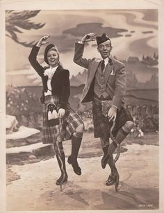 Fred and Ginger - Scotland!