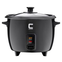 Chefman 10 Cup Cooked Rice Cooker *** Visit the image link more details. (This is an affiliate link) Best Juicer, Black Rice, Specialty Appliances, Kitchen Appliances, Healthy Oils, Rice Cooker, Family Meals, Cooking, Manual