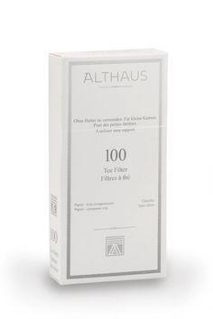 Filtry papierowe do herbaty sypanej   #Althaus #Tea #Herbata #WeBrew #WeBrewWeBrew   www.WeBrew.coffee