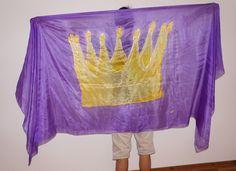 Worship Dance, Silks, Scarf, Crown, Jesus King, Dancing for Jesus, Anbetungstanz, Krone