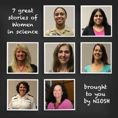 Women in Science video series from the National Institute of Occupational Safety and Health has female scientists and engineers telling what inspired them. Science Videos, Stem Science, Workplace Safety, Spotlights, Great Stories, Engineers, My Happy Place, Girl Scouts, Scientists