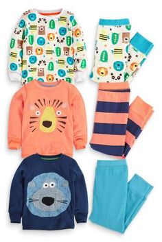 Buy Three Pack Tiger/Lion Snuggle Fit Pyjamas (9mths-8yrs) from the Next UK online shop
