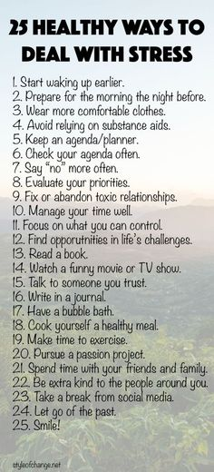 Stress management : Stress management : Stress management : 25 Healthy Ways to Deal with Stress  Sty Stress Management, Guter Rat, Motivacional Quotes, Bath Quotes, Funny Quotes, Style Quotes, Famous Quotes, Wisdom Quotes, Dealing With Stress