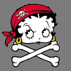 """Betty Boop Pictures Archive: Pirate  i dedicate this pic to the handsome and sexy man Mr Adam Ant   if i could i would put on that pic saying   """" ok who's messing with MR ANT !! lol"""