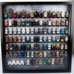 Lego Display Case, Lego Star Wars, Legos, Gaming, Geek Stuff, Batman, Stars, Room, Kids
