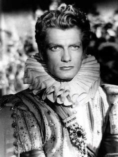 """Jean Marais in """"La Belle et la Bete"""" (Jean Cocteau, 1946)...he is almost too pretty."""