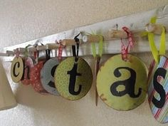 Craft with old CDs or dvds