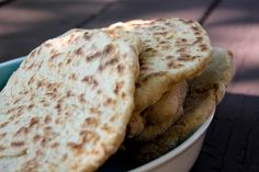 """JR's Flat Bread. Recipe from """"My Beef With Meat"""""""