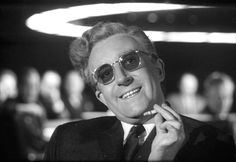 Peter Sellers as Dr. Strangelove (nuclear war expert and former Nazi) as seen in 'Dr. Strangelove or: How I Learned to Stop Worrying and Love the Bomb' (1964)