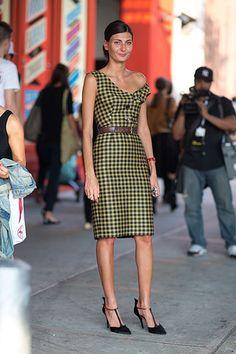 Gone Plaid: Shop 10 Dresses that Check Out: Giovanna Battaglia