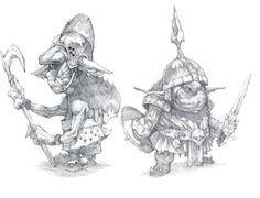 Rowdy Goblins by GaryLaibArt on DeviantArt