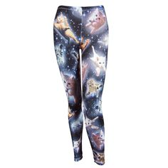 Freeze Womens Space Cats Leggings - I saw these at Target tonight.