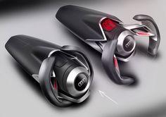 SPD - Concept Car Steering Wheel Design Sketches