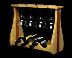 Wine Rack - Need Reliable Information About Wine Look Here! Wine Rack Storage, Wine Rack Wall, Wood Wine Racks, Wine Glass Holder, Wine Rack Inspiration, Wine Caddy, Pallet Wine, Wine Carrier, Wine Craft
