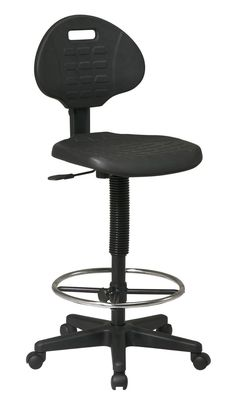 Office Star Work Smart KH550 Intermediate Drafting Chair with Adjustable Footrest