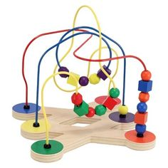 Melissa & Doug® Classic Toy Bead Maze $24