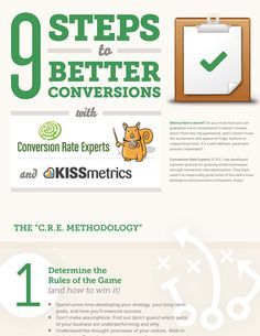 9 Steps to Better Conversions Online Marketing, Social Media Marketing, Digital Marketing, Copywriting, Infographics, Ecommerce, Success, Branding, Learning