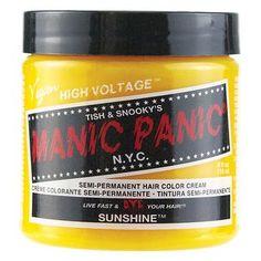 Manic Panic Semi-Permanent Hair Color Cream Sunshine
