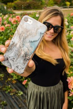 1124bed74f936 Shop trendy marble phone cases and more at fifthandninth.com! blue marble