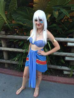 Disney's Princess Kida from Atlantis costume!