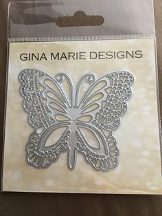 LACE BUTTERFLY DIE - Gina Marie Designs