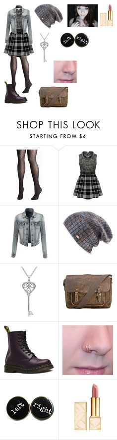 """""""~OhLil'Cal~"""" by kawiwi on Polyvore featuring beauty, Avenue, LE3NO, Spacecraft, Amanda Rose Collection, Patricia Nash, Dr. Martens and Tory Burch"""