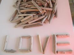 Small size driftwood pieces