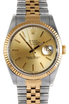Rolex Men's Two-Tone Datejust Watch
