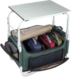 Camp Pack-N-Prep Tote/Table - this is incredible for those of us with small cars :)