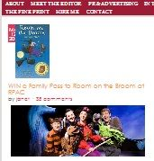 Win A Family Pass To Room On The Broom At RPAC